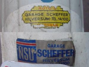 Dealerstickers Garage Scheffer