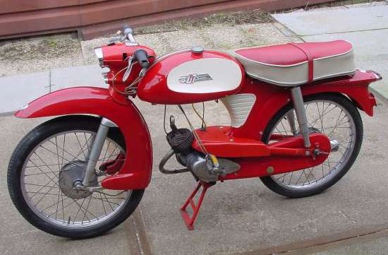 New moped: 1960 NSU Quickly TT(K) – Marc at NSU dot NL